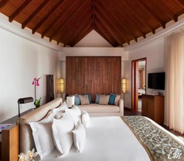 Anantara Dhigu Maldives Resort Sunrise Over Water Suite Interior