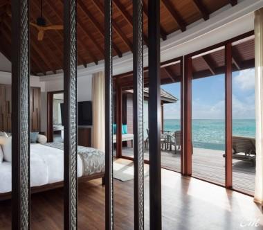Anantara Dhigu Maldives Resort Anantara Over Water Pool Suite Bedroom