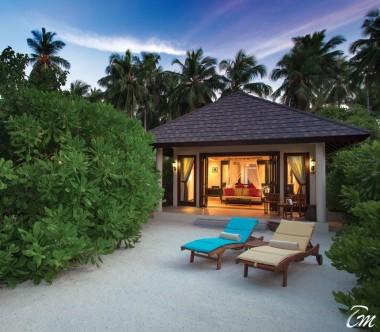 Atmosphere Kanifushi Maldives Sunset Beach Villa Exterior
