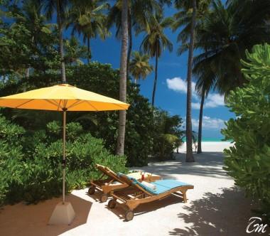 Atmosphere Kanifushi Maldives Sunset Beach Villa Beach hut