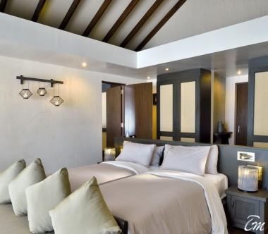 Atmosphere Kanifushi Maldives Sunset Family Villa Interconnecting Room