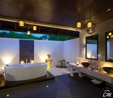 Atmosphere Kanifushi Maldives Sunset Junior Suite Bathroom