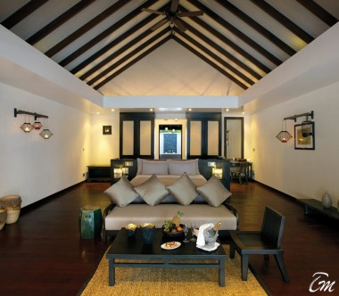Atmosphere Kanifushi Maldives Sunset Junior Suite Interior