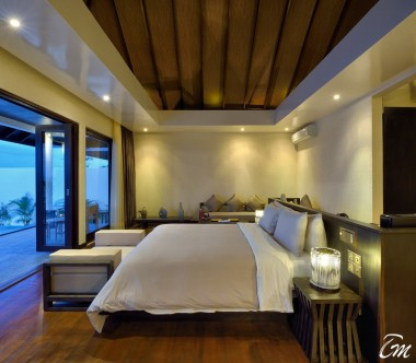Atmosphere Kanifushi Maldives Sunset Pool Villa Interior