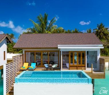 Atmosphere Kanifushi Maldives Sunset Water Villa With Pool