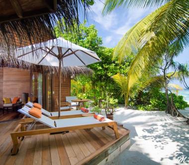 Mirihi Island Resort Beach Villa