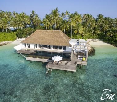 Cheval Blanc Randheli Maldives -  Garden Water Villa Exterior