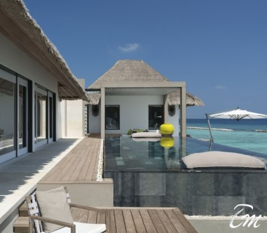 Cheval Blanc Randheli Maldives - 2 Bed Room Garden Water Villa Exterior