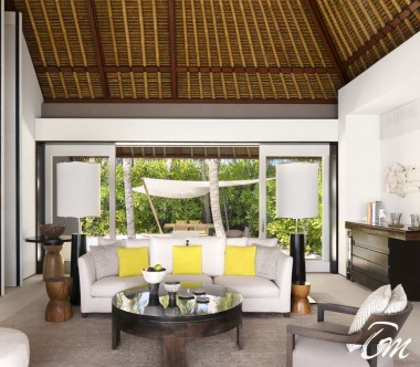 Cheval Blanc Randheli Maldives - 2 Bed Room Garden Water Villa Interior