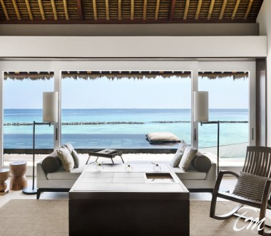 Cheval Blanc Randheli Maldives - 2 Bed Room Garden Water Villa  Ocean View