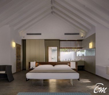 Cocoon Maldives Beach Suites Bedroom