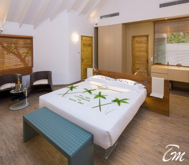 Cocoon Maldives Beach Suites with Pool Bedroom