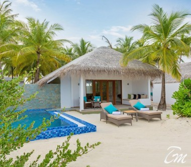 Cocoon Maldives Beach Suites with Pool Exterior