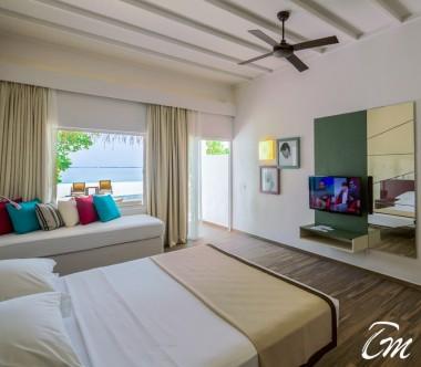 Cocoon Maldives Beach Villa Interior