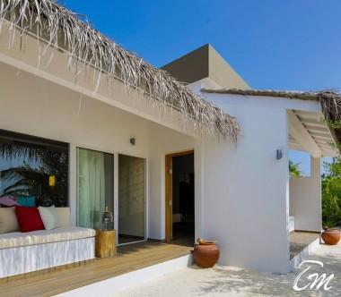 Cocoon Maldives Family Beach Villa Exterior