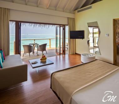 Cocoon Maldives Lagoon Suites Bedroom