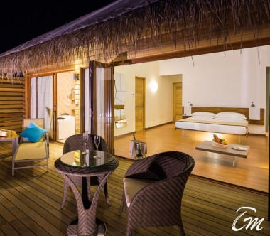 Cocoon Maldives Lagoon Suite Pool Bedroom