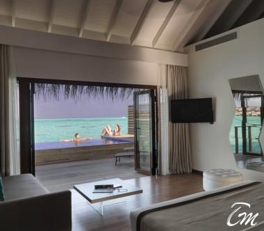 Cocoon Maldives Lagoon Suite Pool Interior