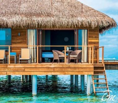 Cocoon Maldives Lagoon Villas Exterior