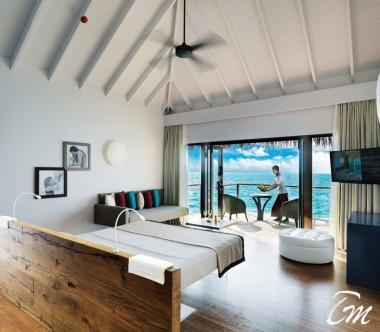 Cocoon Maldives Lagoon Villas Ocean Face