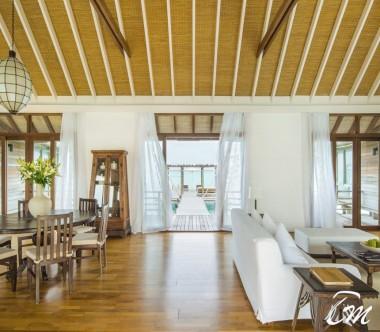 COMO Cocoa Island Maldives COMO Villa Living Room