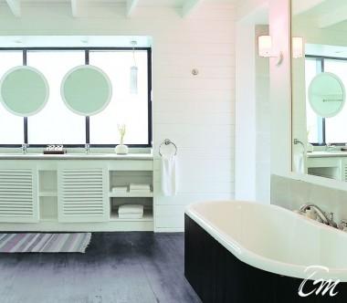 COMO Cocoa Island Maldives Dhoni Loft Suite Bathroom