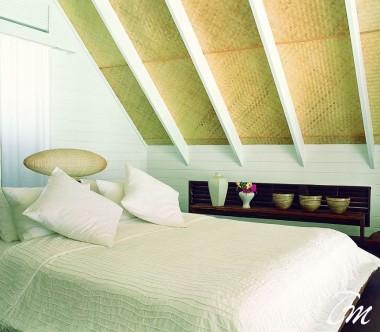 COMO Cocoa Island Maldives Dhoni Loft Suite Bedroom
