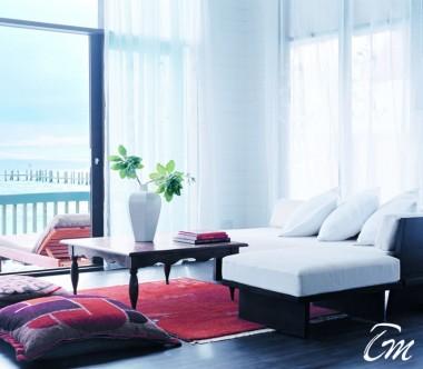 COMO Cocoa Island Maldives Dhoni Loft Suite Living Room
