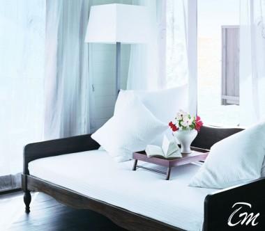COMO Cocoa Island Maldives Dhoni Suite Bedroom
