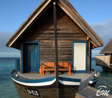 COMO Cocoa Island Maldives Dhoni Suite Entrance