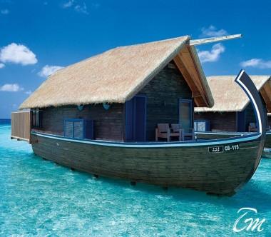 COMO Cocoa Island Maldives Dhoni Suite Exterior
