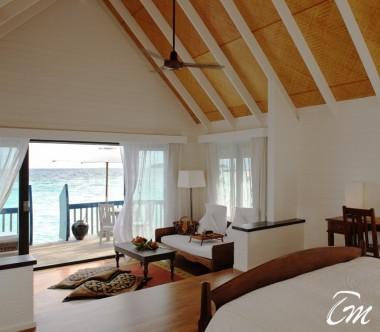 COMO Cocoa Island Maldives Dhoni Suite Interior