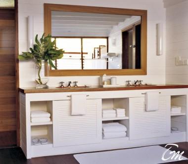 COMO Cocoa Island Maldives Loft Villa Bathroom