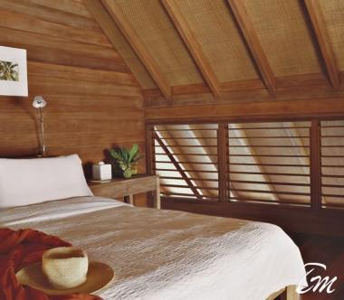 COMO Cocoa Island Maldives Loft Villa Bedroom