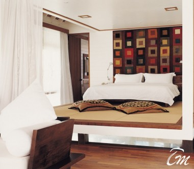 COMO Cocoa Island Maldives One Bedroom Villa Interior