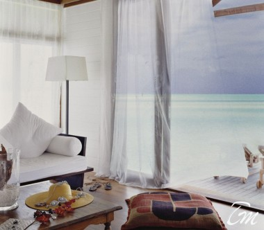COMO Cocoa Island Maldives One Bedroom Villa Lounge