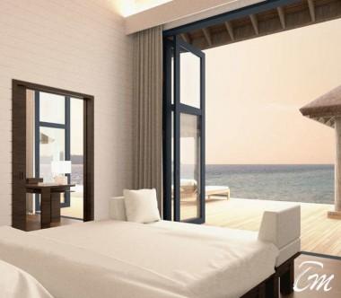COMO Cocoa Island Maldives Three Bedroom Villa Interior