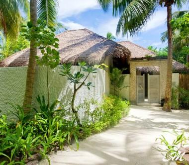 COMO Maalifushi Maldives Beach Suite Entrance