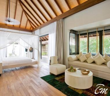 COMO Maalifushi Maldives Beach Suite Interior
