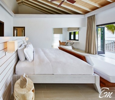 COMO Maalifushi Maldives Como Residence Bedroom