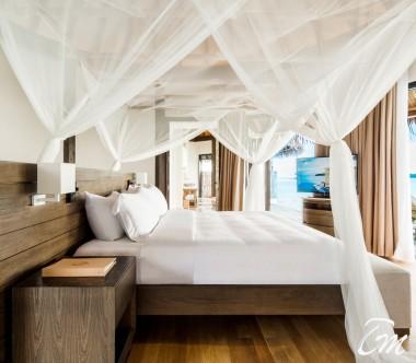 COMO Maalifushi Maldives COMO Villa Bedroom