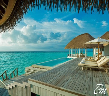 COMO Maalifushi Maldives COMO Villa Deck