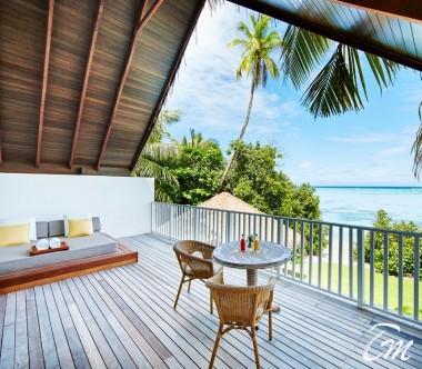 COMO Maalifushi Maldives Maalifushi Beach Villa Balcony