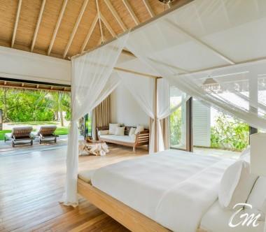 COMO Maalifushi Maldives Maalifushi Beach Villa Bedroom