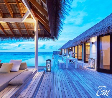 COMO Maalifushi Maldives Maalifushi Water Villa Deck