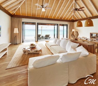 COMO Maalifushi Maldives Maalifushi Water Villa Living