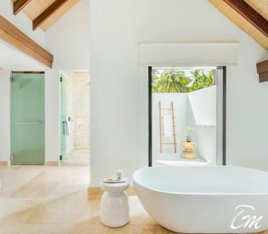 COMO Maalifushi Maldives Two Bedroom Beach House Bedroom