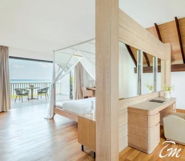 COMO Maalifushi Maldives Two Bedroom Beach House Bedrooom