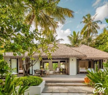 COMO Maalifushi Maldives Two Bedroom Beach Villa Exterior