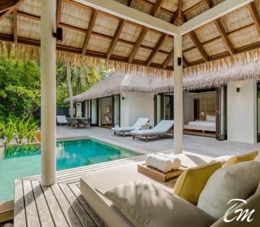 COMO Maalifushi Maldives Two Bedroom Beach Villa Pool